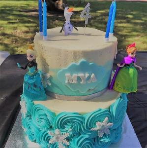 frozen birthday cake aveley