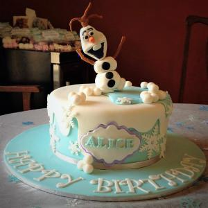 frozen birthday cake perth