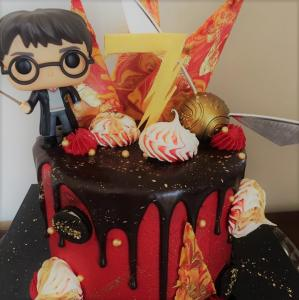 harry potter theme cake